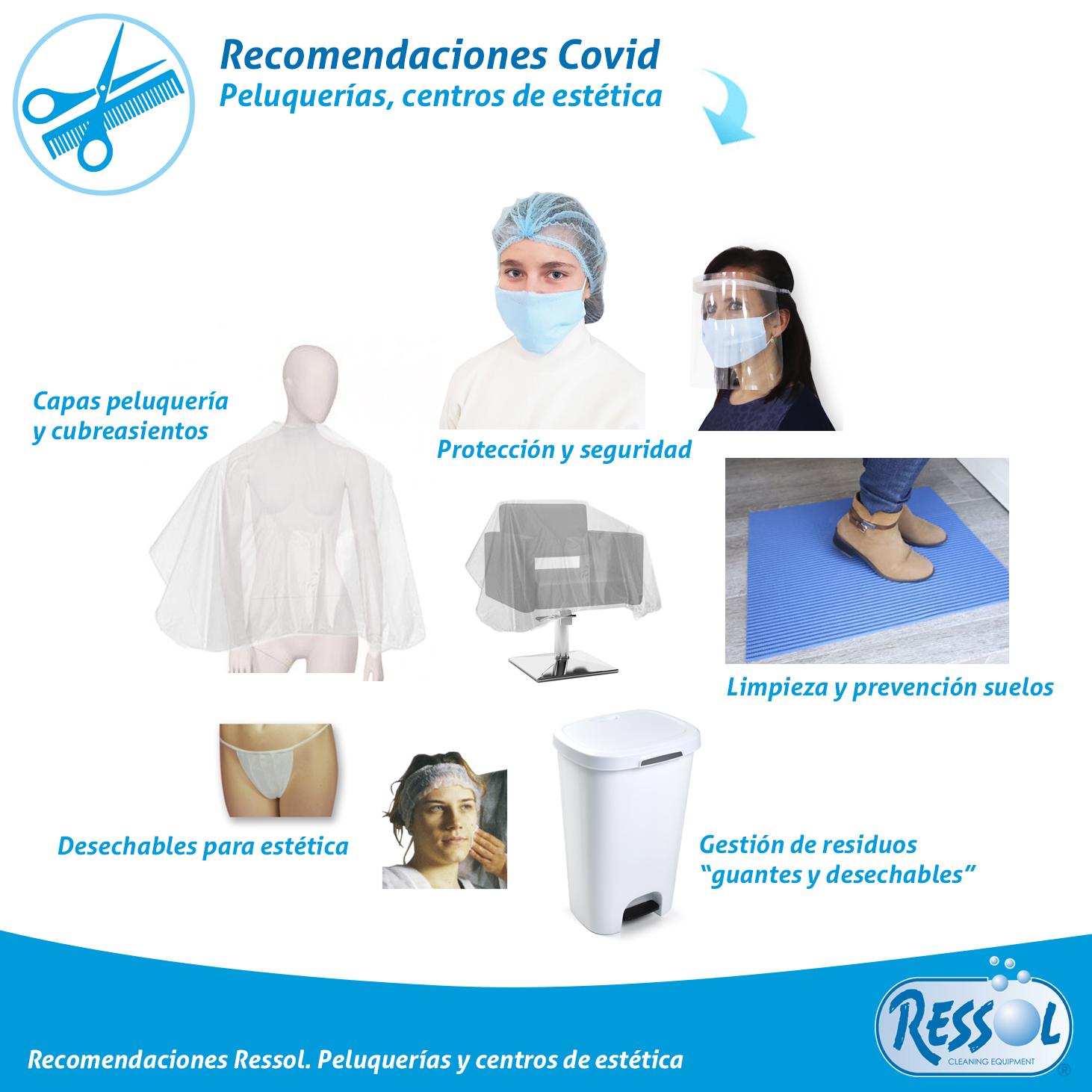 recomendaciones limpieza Covid